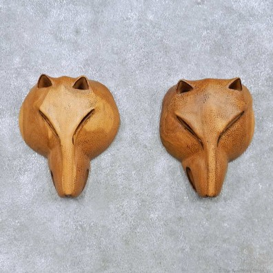 African Lion Mask Pair For Sale #15172 @ The Taxidermy Store