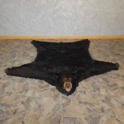 Black Bear Full-Size Rug For Sale #18973 @ The Taxidermy Store