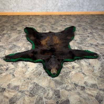 Black Bear Full-Size Rug For Sale #22108 @ The Taxidermy Store