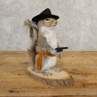 Cowboy Squirrel Novelty Mount For Sale #20714 @ The Taxidermy Store