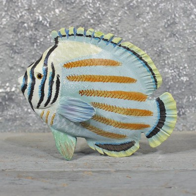 Ocean Fish Wood Carving 11606 The Taxidermy Store