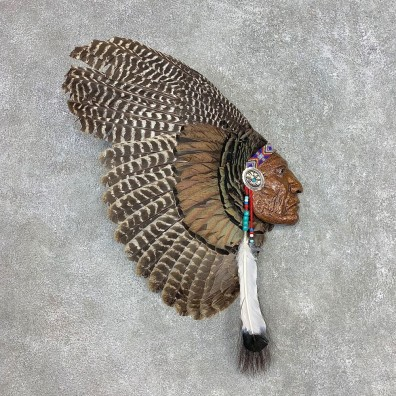 War Bird Turkey Fan Display For Sale #21536 @ The Taxidermy Store