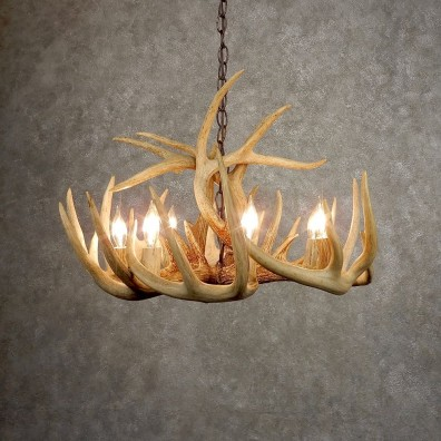 Whitetail Deer Antler Chandelier For Sale #21277 @ The Taxidermy Store