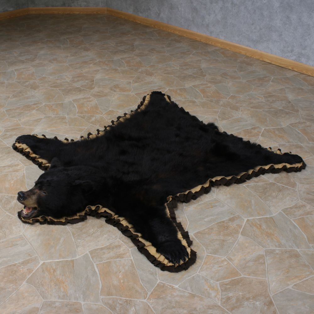 Black Bear Rug For Sale #11161