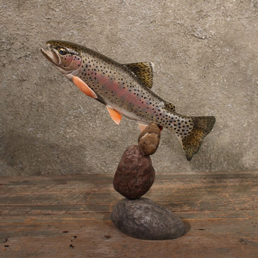 Bob berry brook trout carving