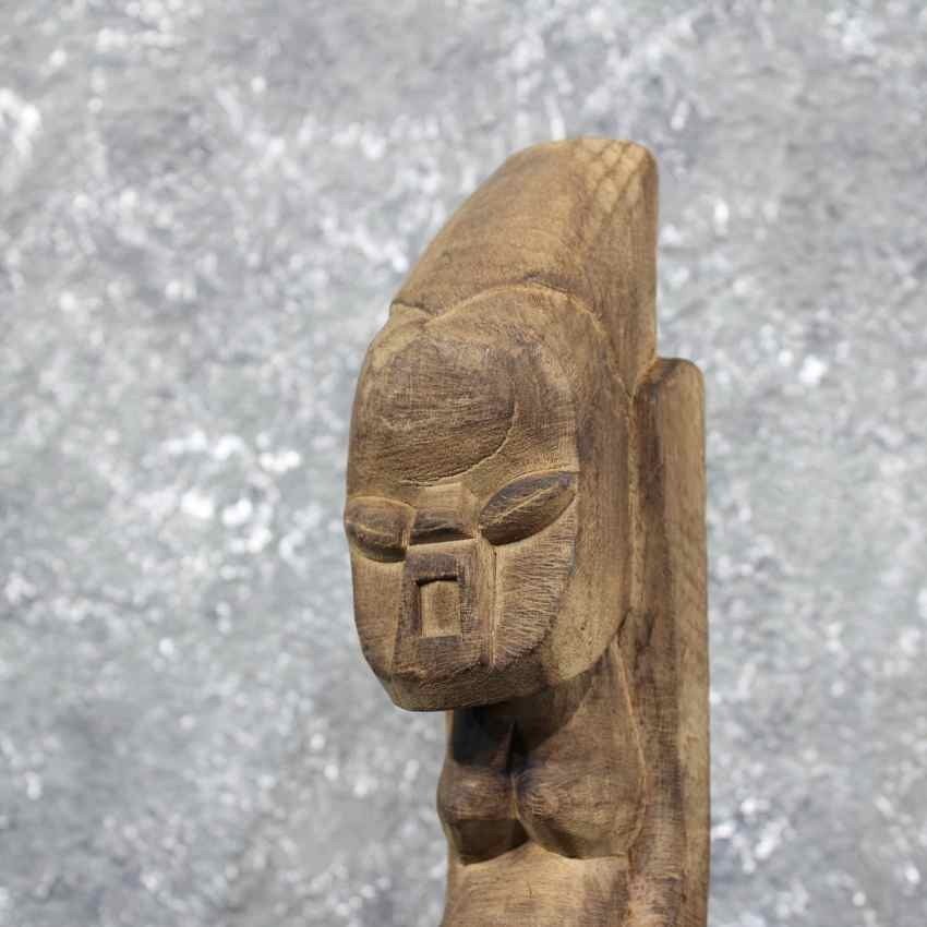 African tribal wood carving for sale the