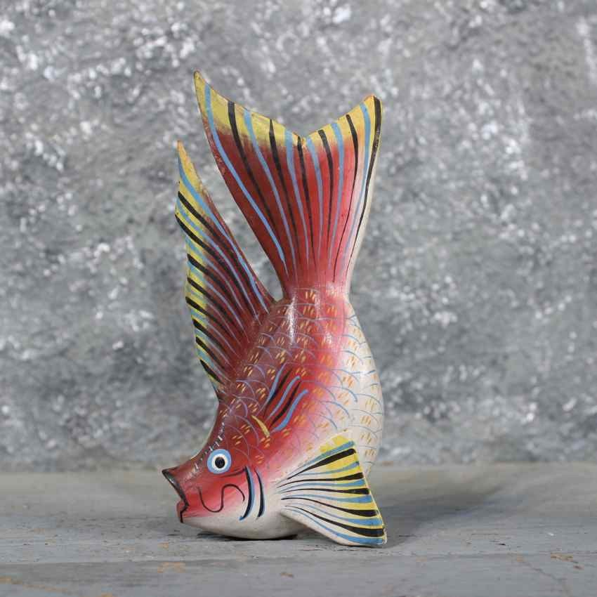 Ocean fish wood carving for sale the taxidermy