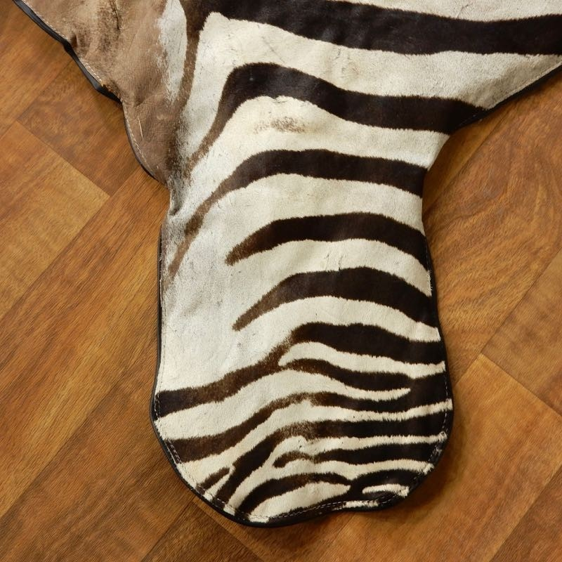 African Zebra Full-Size Rug For Sale #17855