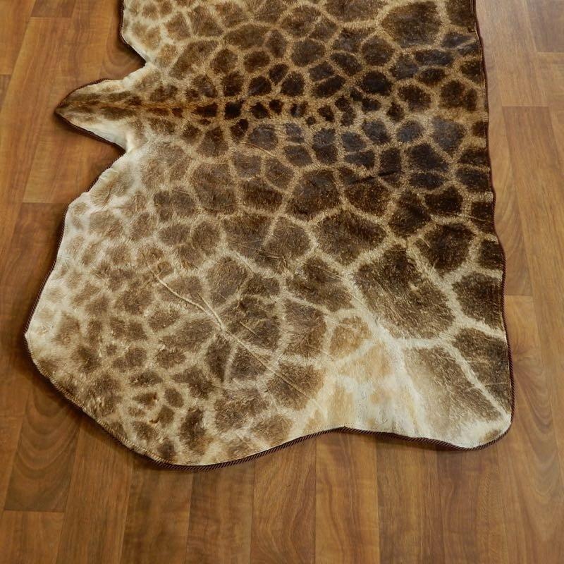 African Giraffe Rug For Sale #18207