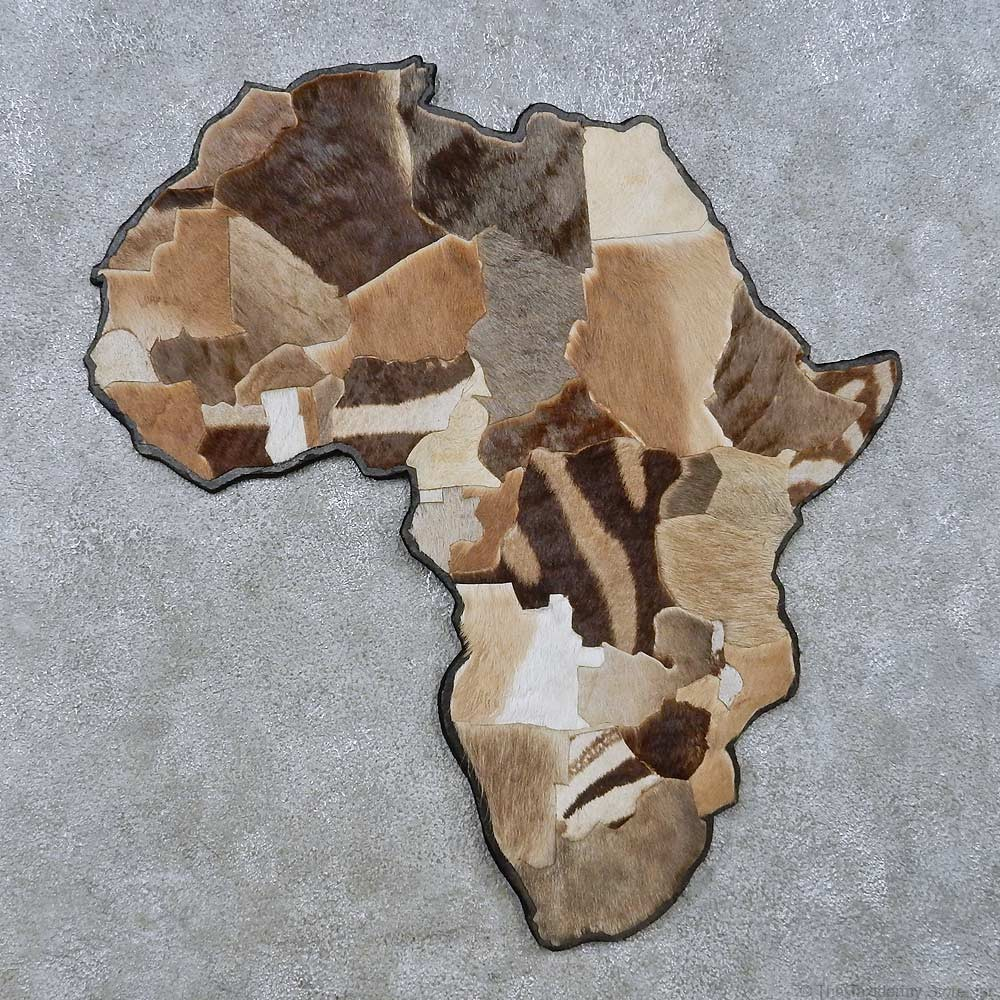 African Continent Wall Decor For 15071 The Taxidermy