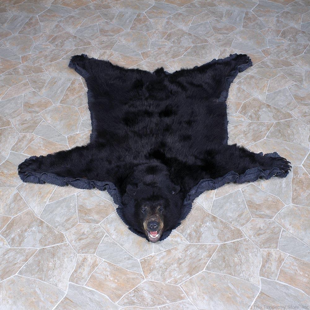 Black Bear Rug Mount #12341