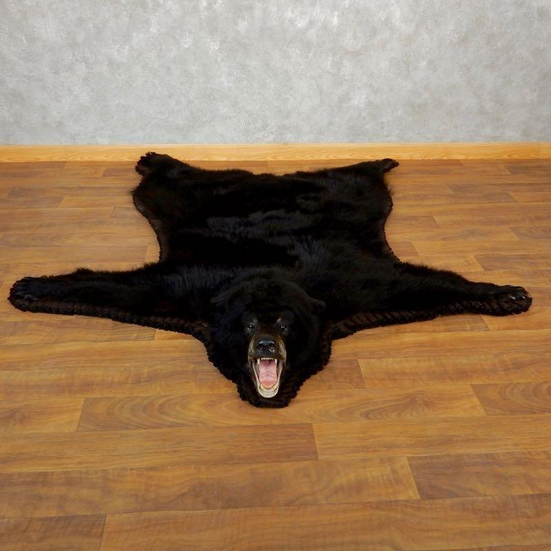 Black Bear Full-Size Rug For Sale #17849