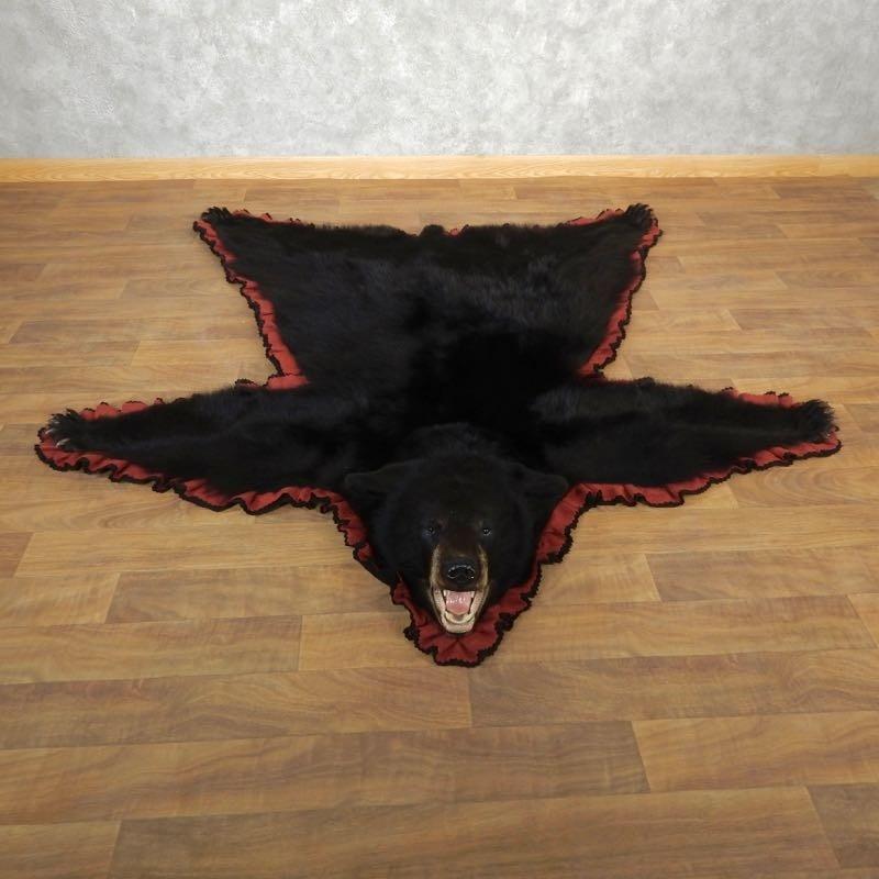 Black Bear Full-Size Rug For Sale #17854