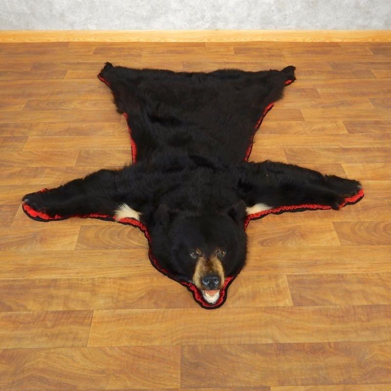 Black Bear Full-Size Rug For Sale #17859