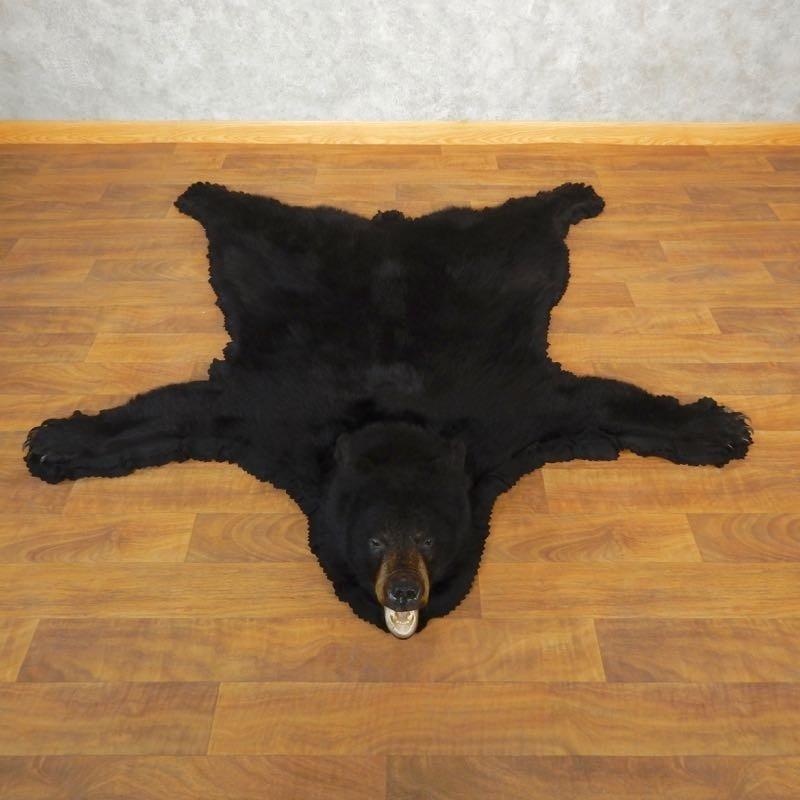 Black Bear Full-Size Rug For Sale #17857