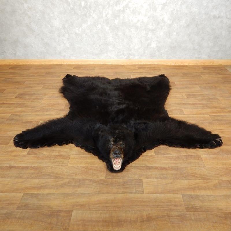 Black Bear Full-Size Rug For Sale #17862