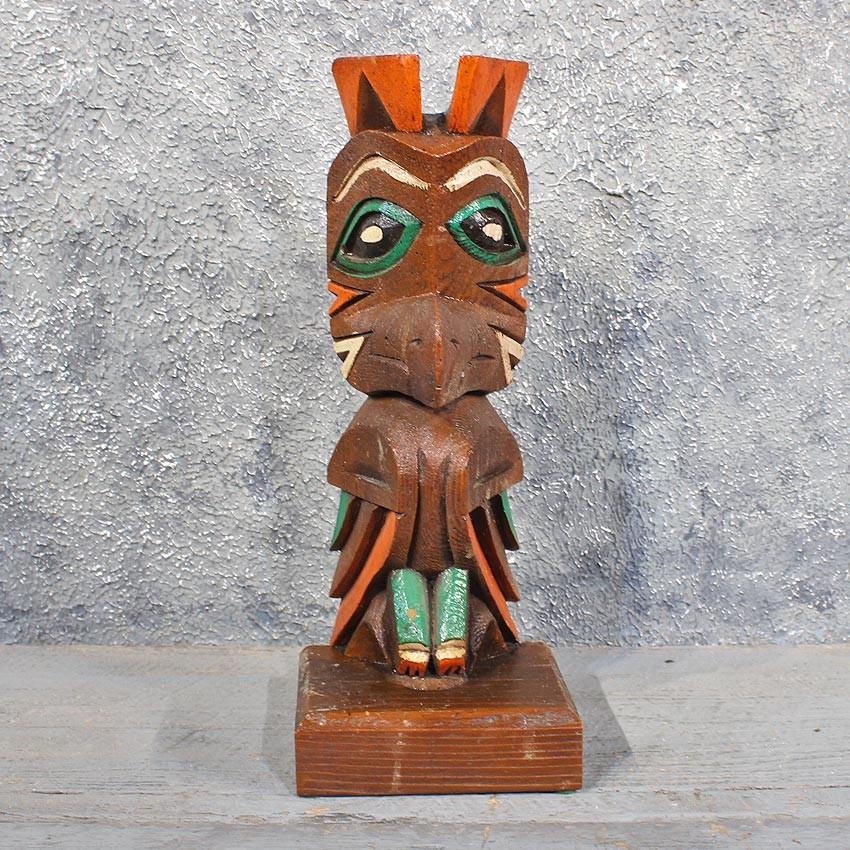 how to make a wood totem pole