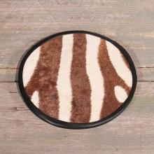 Zebra Hide Center Piece #10603 - The Taxidermy Store