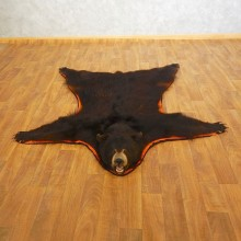 Black Bear Full-Size Rug For Sale #16615 @ The Taxidermy Store