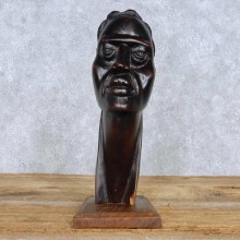 African Maasai Tribal Head Carving For Sale #15180 @ The Taxidermy Store
