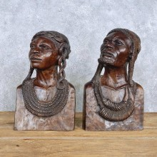 African Maasai Tribal Head Carving For Sale #15181 @ The Taxidermy Store
