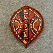 African Massai Warrior Shield For Sale #16534 @ The Taxidermy Store