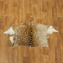 Axis Deer Tanned Skin Taxidermy Rug For Sale