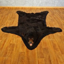 Black Bear Full-Size Rug For Sale #16606 @ The Taxidermy Store