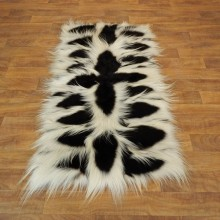 Black & White Colobus Monkey Rug Mount For Sale #17880 @ The Taxidermy Store