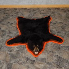 Black Bear Full-Size Rug For Sale #18968 @ The Taxidermy Store