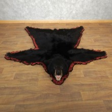 Black Bear Full-Size Rug For Sale #17854 @ The Taxidermy Store