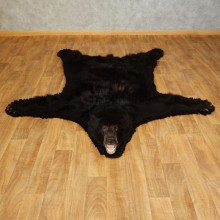 Black Bear Full-Size Rug For Sale #17252 @ The Taxidermy Store