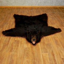 Black Bear Full-Size Rug For Sale #17253 @ The Taxidermy Store