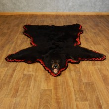 Black Bear Full-Size Rug For Sale #17262 @ The Taxidermy Store