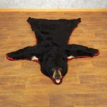 Black Bear Full Size Rug For Sale #17859 @ The Taxidermy Store