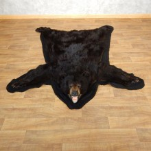 Black Bear Full-Size Rug For Sale #17861 @ The Taxidermy Store