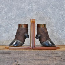 Cape Buffalo Feet Bookends #11963 For Sale @ The Taxidermy Store