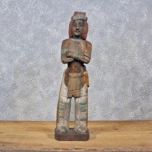 Carved Wooden Indian #11982 For Sale @ The Taxidermy Store