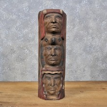Wooden Indian Totem Carving Statue #11986 For Sale @ The Taxidermy Store