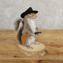 Cowboy Squirrel Novelty Mount For Sale #20722 @ The Taxidermy Store