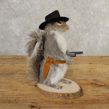 Cowboy Squirrel Novelty Mount For Sale #20729 @ The Taxidermy Store