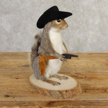 Cowboy Squirrel Novelty Mount For Sale #20733 @ The Taxidermy Store
