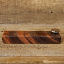 Custom Tigerwood Knife Display Stand For Sale #19404 @ The Taxidermy Store