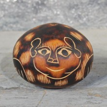 Hand Carved Peruvian Gourd #11601 - For Sale @ The Taxidermy Store