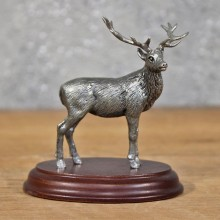Miniature Metal Elk Figurine #11989 For Sale @ The Taxidermy Store