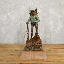Fred Boyer Sheep Hunting Bronze For Sale #19941 @ The Taxidermy Store