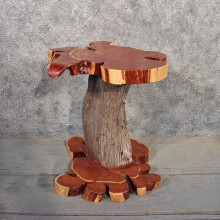Hand Made Cedar Table #11531 - For Sale - The Taxidermy Store