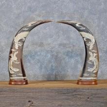 Water Buffalo Horn Carving