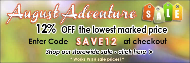 August Adventure Sale 12 @ The Taxidermy Store