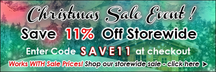Christmas Sale 11 Coupon Code @ The Taxidermy Store